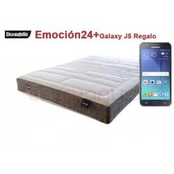 Colchón Emoción24 de Dunlopillo® + Regalo Samsung Galaxy J5