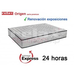 Colchón Origen Serie Premium de Relax® de Exposición 150x190