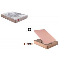 Pack Colchón Inteligente SmartPik e-dream de Pikolin®+ Canapé Abatible Madera Nilo de ColchonVip®