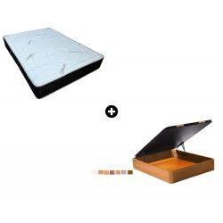 Pack Colchón Ailama de ColchonVip® + Canapé Abatible Madera CanapeVip de ColchonVip®