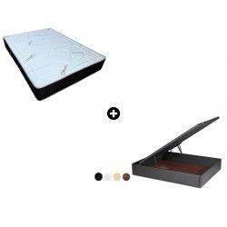 Pack Colchón Ailama de ColchonVip® + Canapé Abatible Polipiel Hércules de ColchonVip®