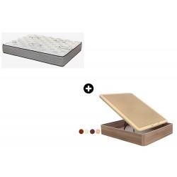 Pack Colchón Expert Serie Spiral de Relax ®+ Canapé Abatible Madera Yangtsé de ColchonVip®