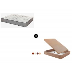 Pack Colchón Expert Serie Spiral de Relax ®+ Canapé Abatible Madera Orinoco de ColchonVip®