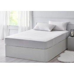Protector Colchón Tencel Transpirable e Impermeable blanco