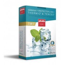 Protector Colchón Tencel+Thermic Termorregulador blanco