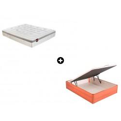 Pack Colchón Partenon Serie Advance de Pikolin® + Canapé Abatible Madera Maxibox de ColchonVip