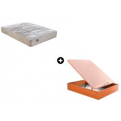 Pack Colchón Nap Serie Active de Pikolin® + Canapé Abatible Madera Drompbox de ColchonVip®