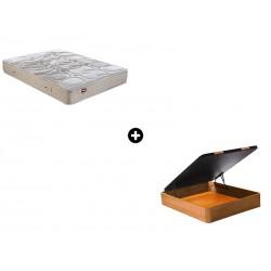 Pack Colchón Nap Serie Active de Pikolin® + Canapé Abatible Madera CanapeVip de ColchonVip®