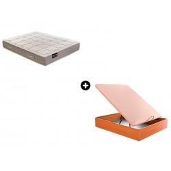 Pack Colchón Perseo Serie Neo de Pikolin® + Canapé Abatible Madera Drompbox de ColchonVip®