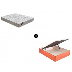 Pack Colchón Ulises Serie Neo de Pikolin® + Canapé Abatible Madera Maxibox de ColchonVip