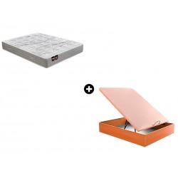 Pack Colchón Ulises Serie Neo de Pikolin® + Canapé Abatible Madera Drompbox de ColchonVip®