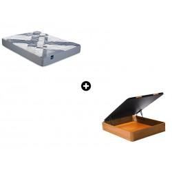 Pack Colchón Draco Serie Active de Bultex® + Canapé Abatible Madera CanapeVip de ColchonVip®