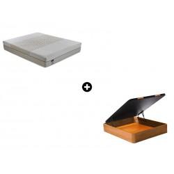 Pack Colchón Pixel Serie Neo de Bultex® + Canapé Abatible Madera CanapeVip de ColchonVip®