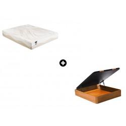 Pack Colchón Zoom Serie Neo de Bultex® + Canapé Abatible Madera CanapeVip de ColchonVip®