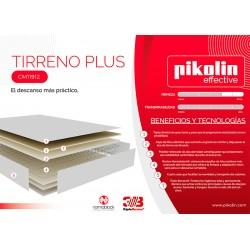 Colchón Tirreno Plus Serie Effective de Pikolin