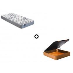 Pack Colchón Compás Serie Active de Bultex® + Canapé Abatible Madera CanapeVip de ColchonVip®