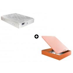 Colchón DualPik Medium (Pikolin) + Canapé de madera Altái