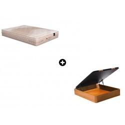 Pack Colchón Biosoja de Naturalia® + Canapé Abatible Madera CanapeVip de ColchonVip®