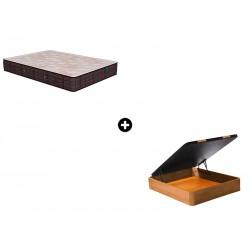 Pack Colchón Termovisco de Naturalia® + Canapé Abatible Madera CanapeVip de ColchonVip®