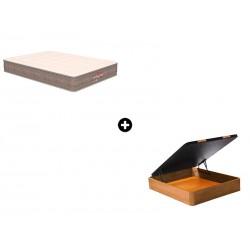 Pack Colchón Termoswiss Plus de Naturalia® + Canapé Abatible Madera CanapeVip de ColchonVip®