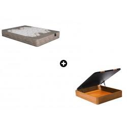 Pack Colchón Nova de Poligón® + Canapé Abatible Madera CanapeVip de ColchonVip®