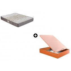 Pack Colchón Smak de Sunlay® + Canapé Abatible Madera Drompbox de ColchonVip®