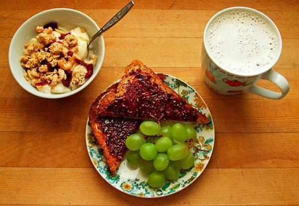 Madruga y desayuna saludable